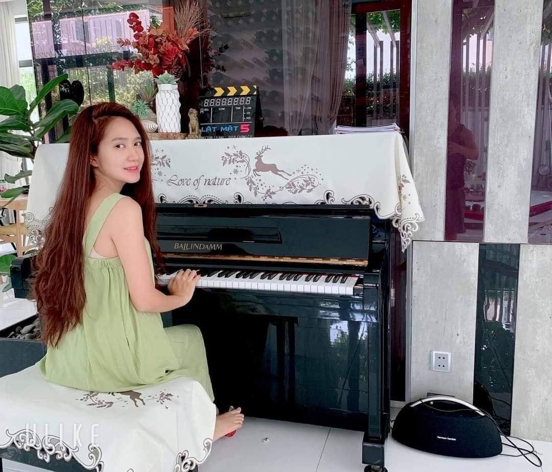 khăn phủ đàn piano Cát Tường