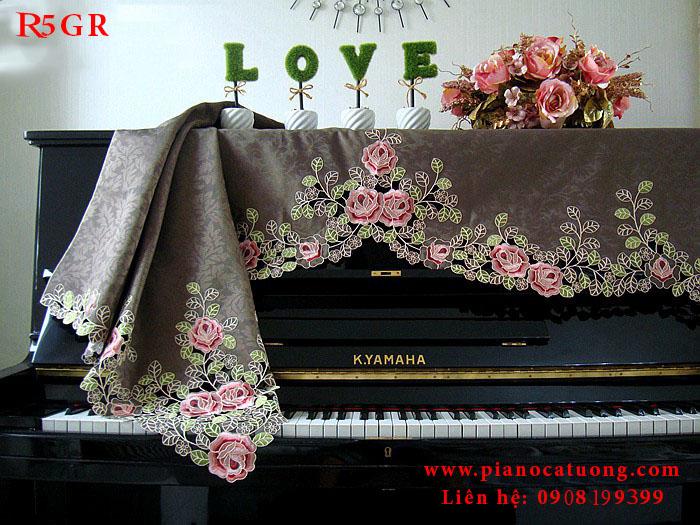 khăn trùm đàn piano