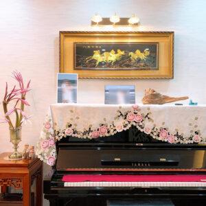khăn phủ nóc đàn piano cao cấp