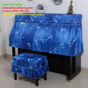 Khăn phủ tam khúc piano