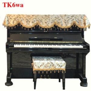 khăn phủ nóc đàn piano màu kem hoàng gia cao cấp