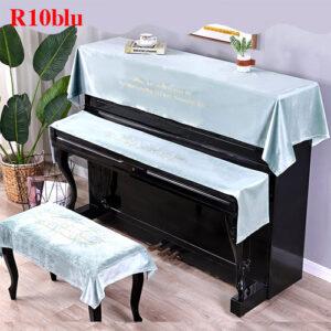 khăn phủ đàn piano bằng nhung lụa
