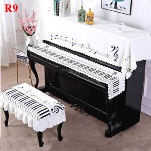 khăn phủ đàn piano tam khúc R9